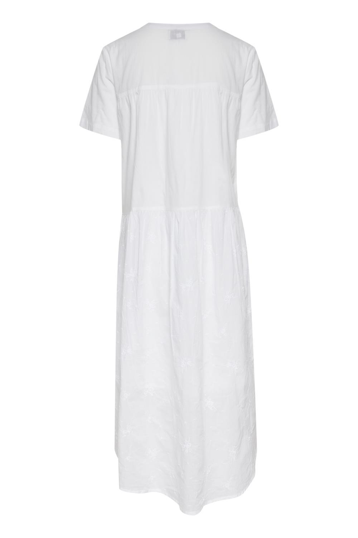 Pulz Bianca skjorte kjole, linviskose Rosenform AS