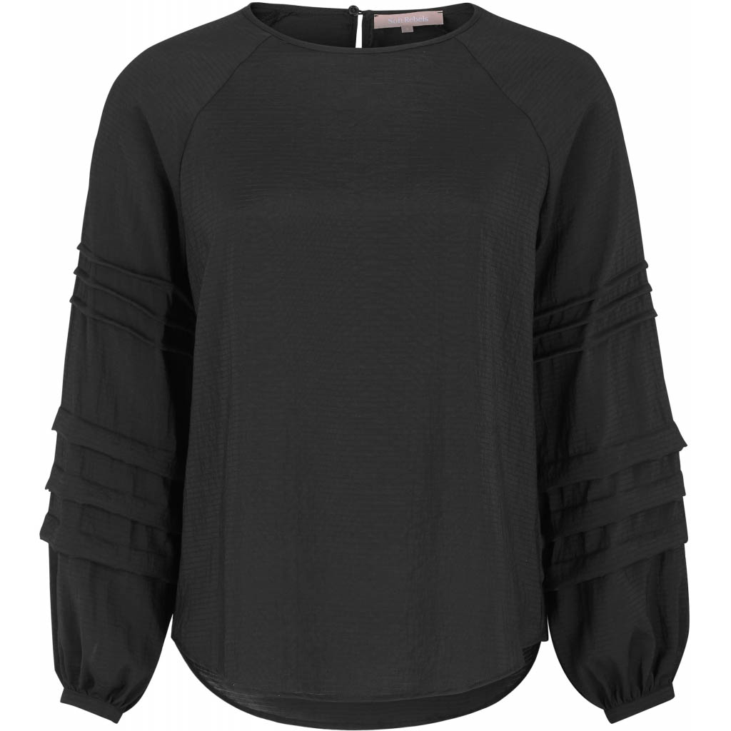 Soft Rebels Amelia LS Top, black