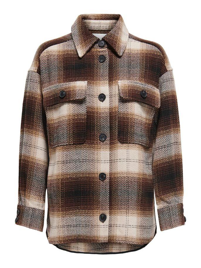 Jacqueline de Yong, Toby Check Shirt Jacket