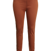 Ciso Sofia 7/8 stretch pants, slim fit, rustbrun