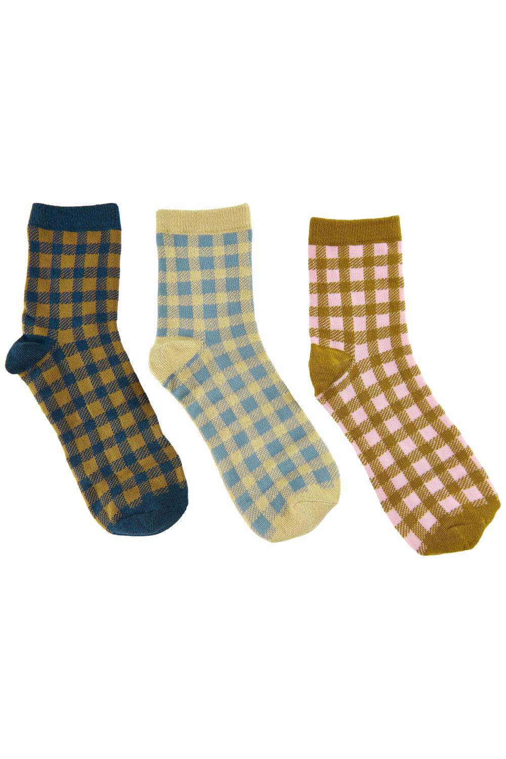 Nümph Briona 3-pack sock, multicolor