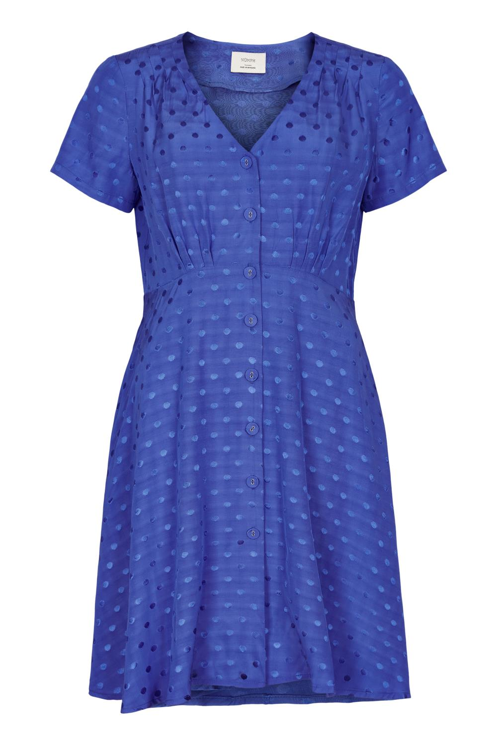 Nümph Brandall dress, daz.blue