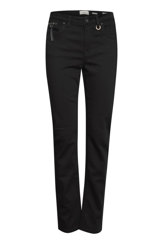 Pulz PzEmma Jeans, straight leg, black