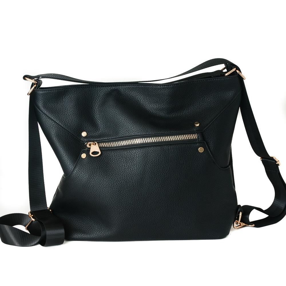 Rosenvinge Elle bag and sack, black