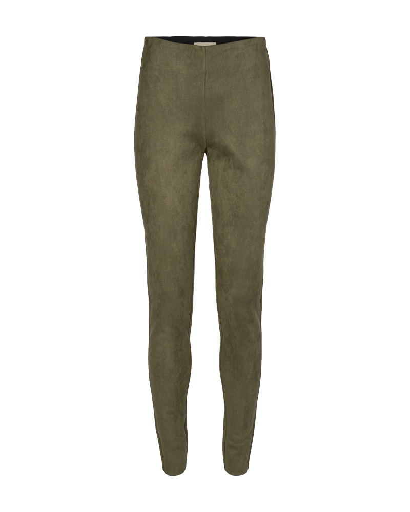 Freequent FqLexie pants suede, olive night