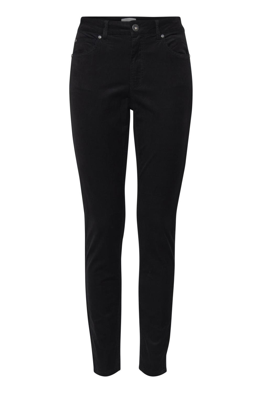 Pulz Mara pants super skinny, black beauty