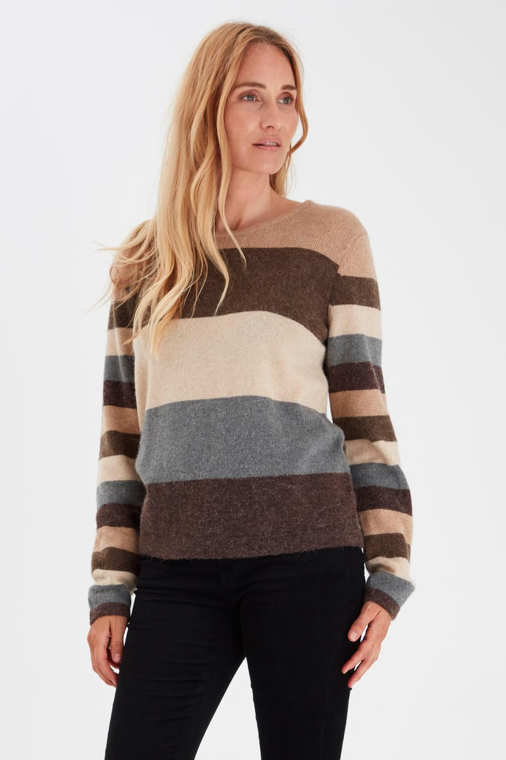 Pulz Zahara Pullover, Multi Color
