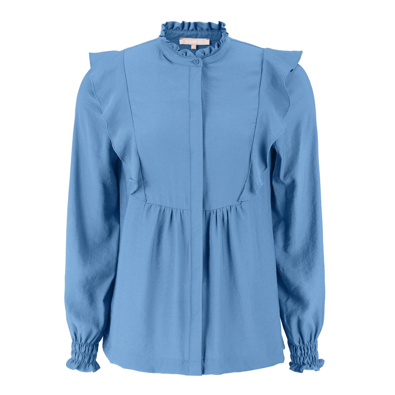 Soft Rebels Barbara Shirt, Bijou Blue