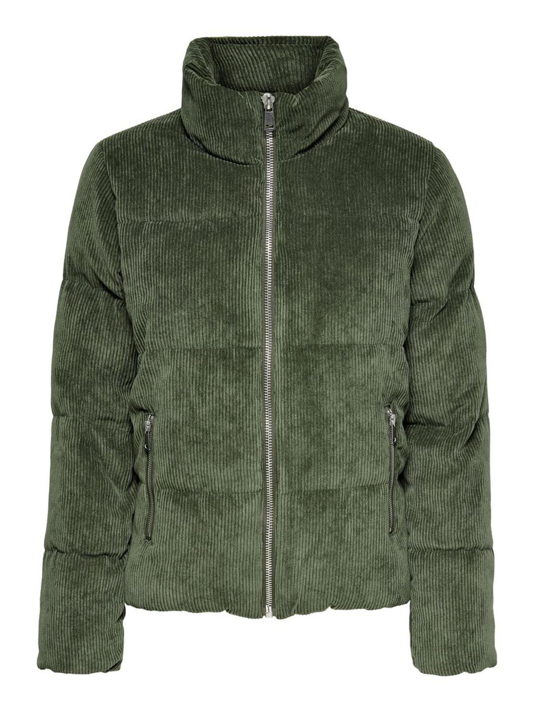 JDY Newalexa padded cordur jacket, peat