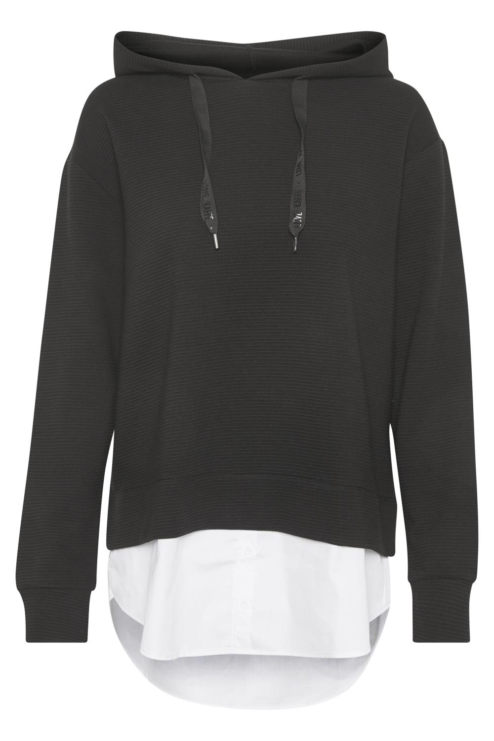 Kaffe Lexie sweatshirt, black deep