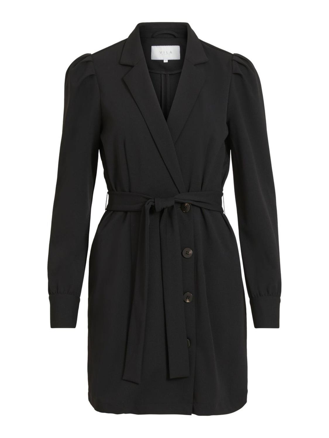 Vila Mary Blazer Dress, sort