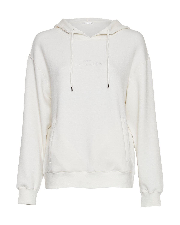 MSCH Ima Logo Hood Sweatshirt, offwhite