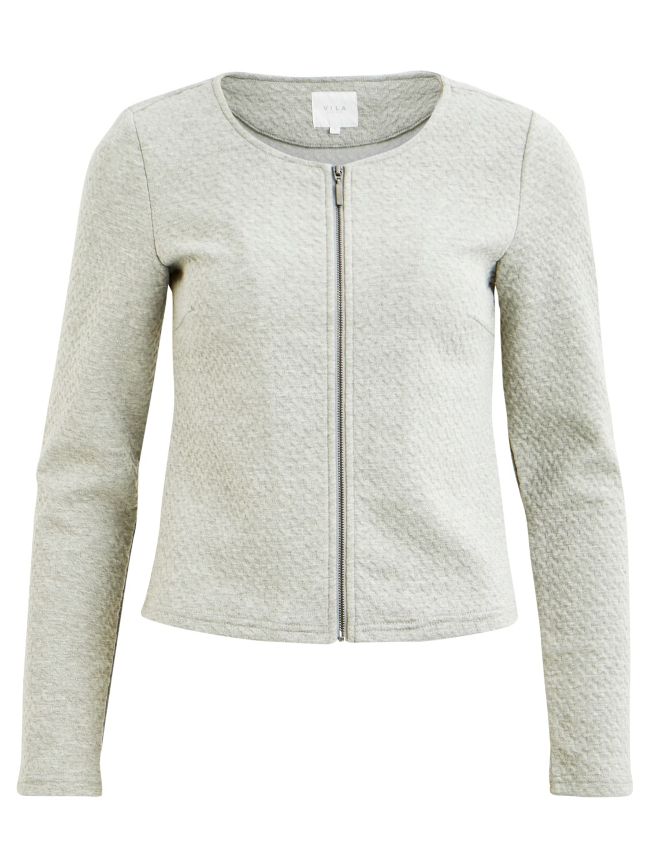 Vila Naja New short jacket, lys grå