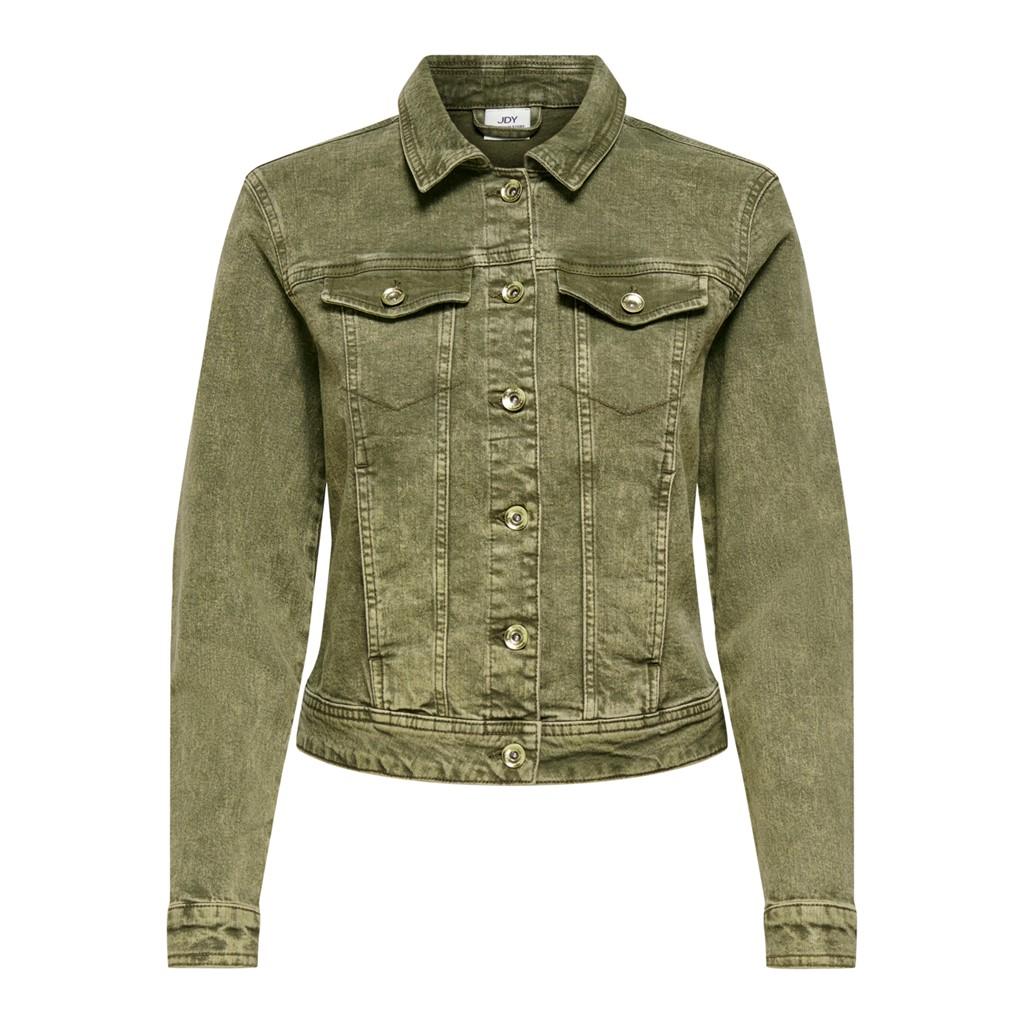 Jacqueline de Young Windy stretch colored jacket, kalamata/grønn