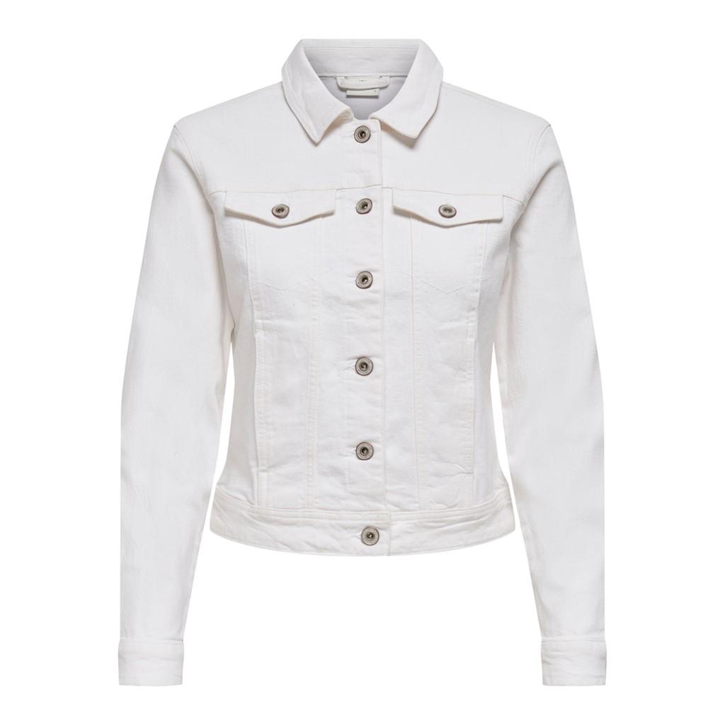Jacqueline de Young Windy stretch colored jacket, white/hvit