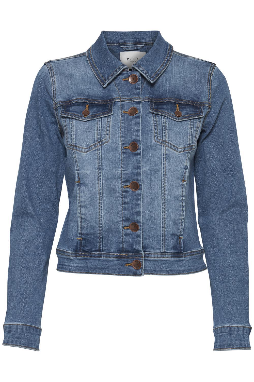 Pulz Sira Denim Jacket, litght blue