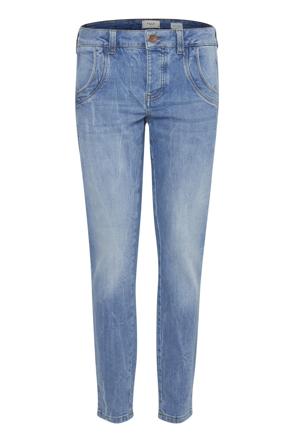 Pulz Melina Jeans, light blue denim