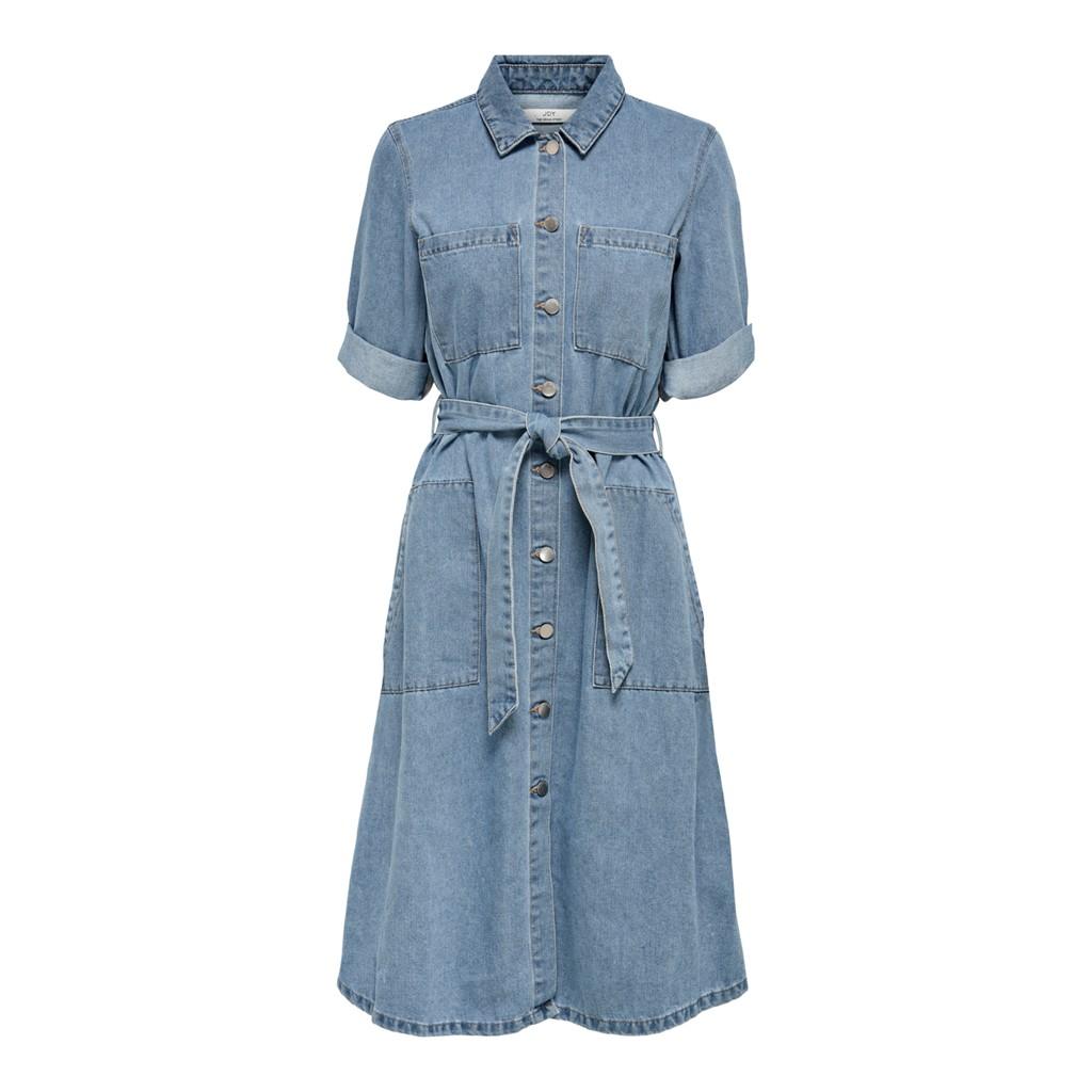Jacquelin de Yong Athena 3/4 Belt Dress Denim