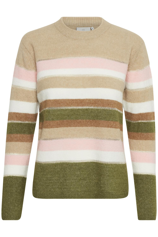 Kaffe Wenni pullover, nomad multi stripe