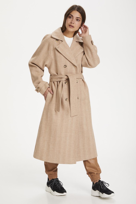 Kaffe Sirina coat, nomad