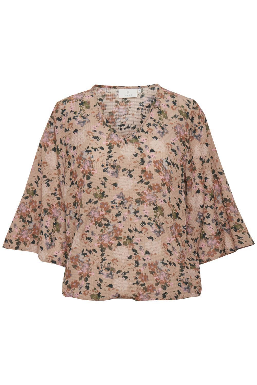 Kaffe Leala blouse, nomad watercolor flower print