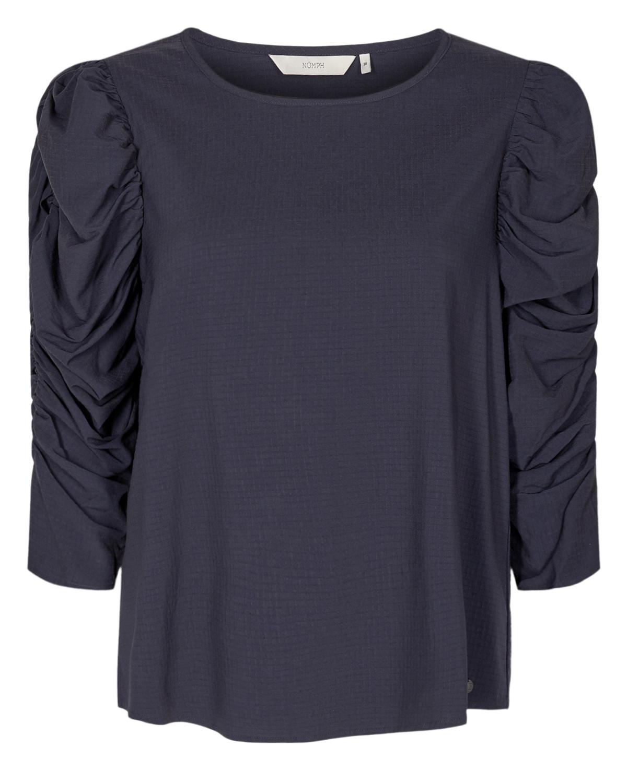 Nümph NuFiona blouse, dark sapphire