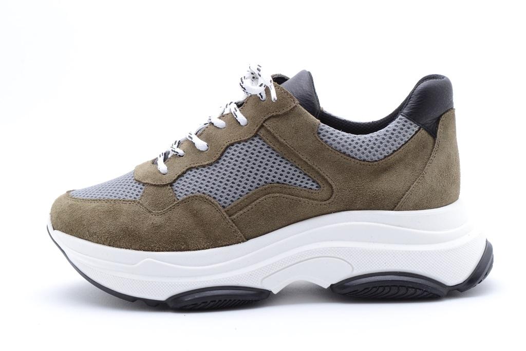 KMB Shoes Crosta Qatar Kaki, mosegrønn