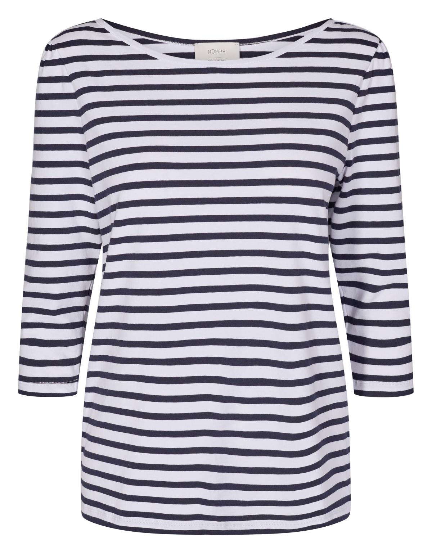 Nümph Nudaia T-shirt, stripet