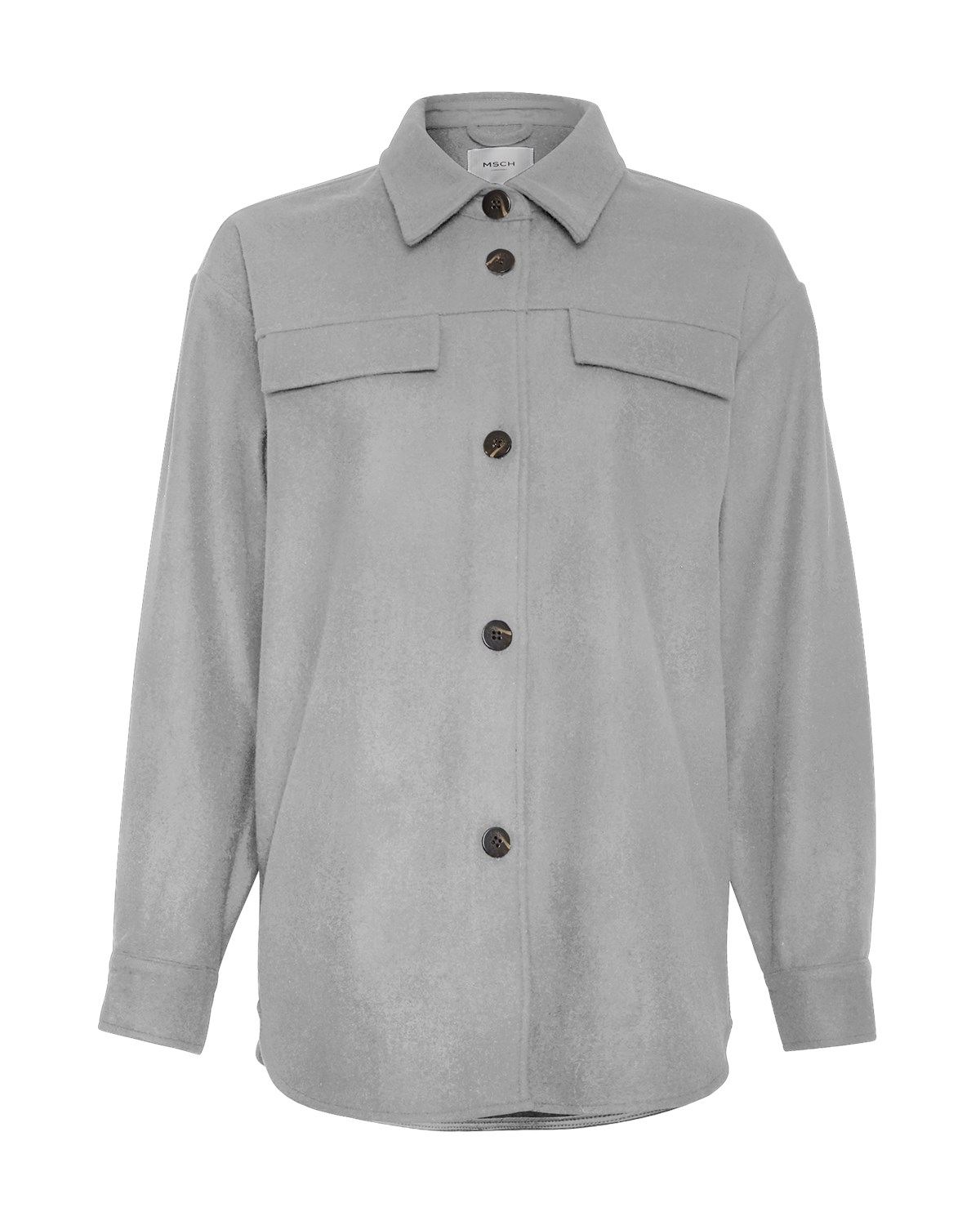 MSCH Maude Jacket, light grey melange