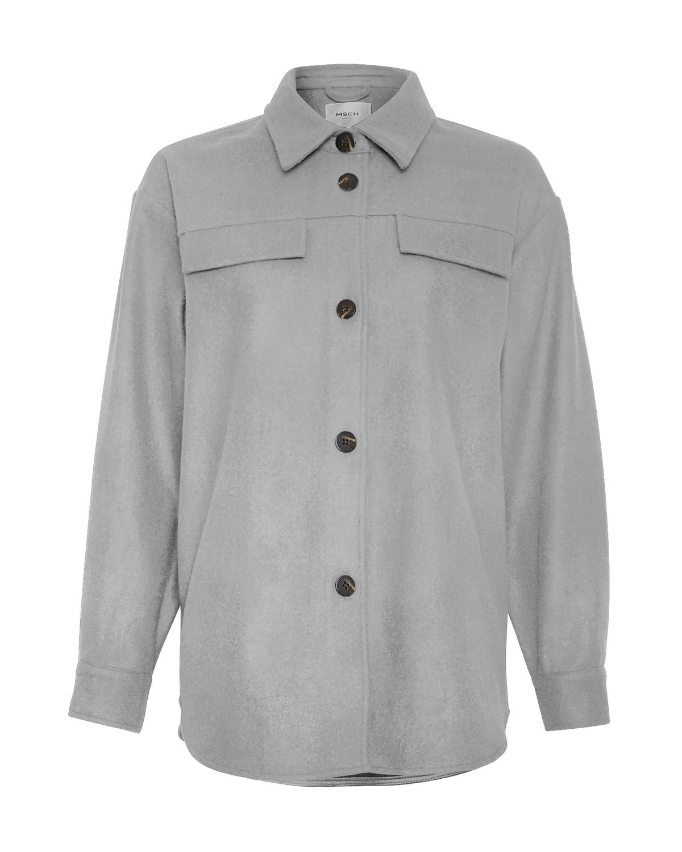 MSCH Maude Jacket, light grey melange