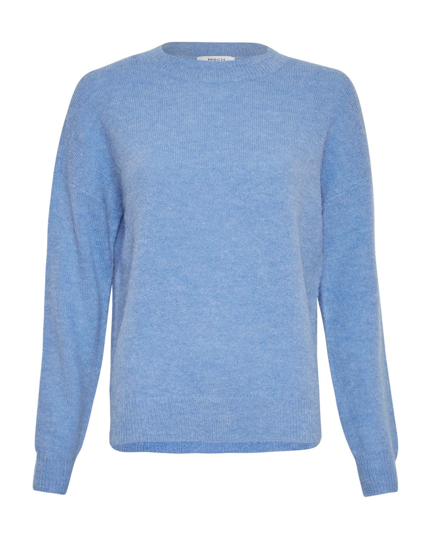 MSCH Femme alpaca o pullover, s lake blue