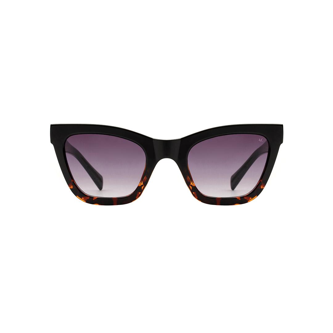 A. Kjærbede Big Kanye sunglasses, black/demi tortoise