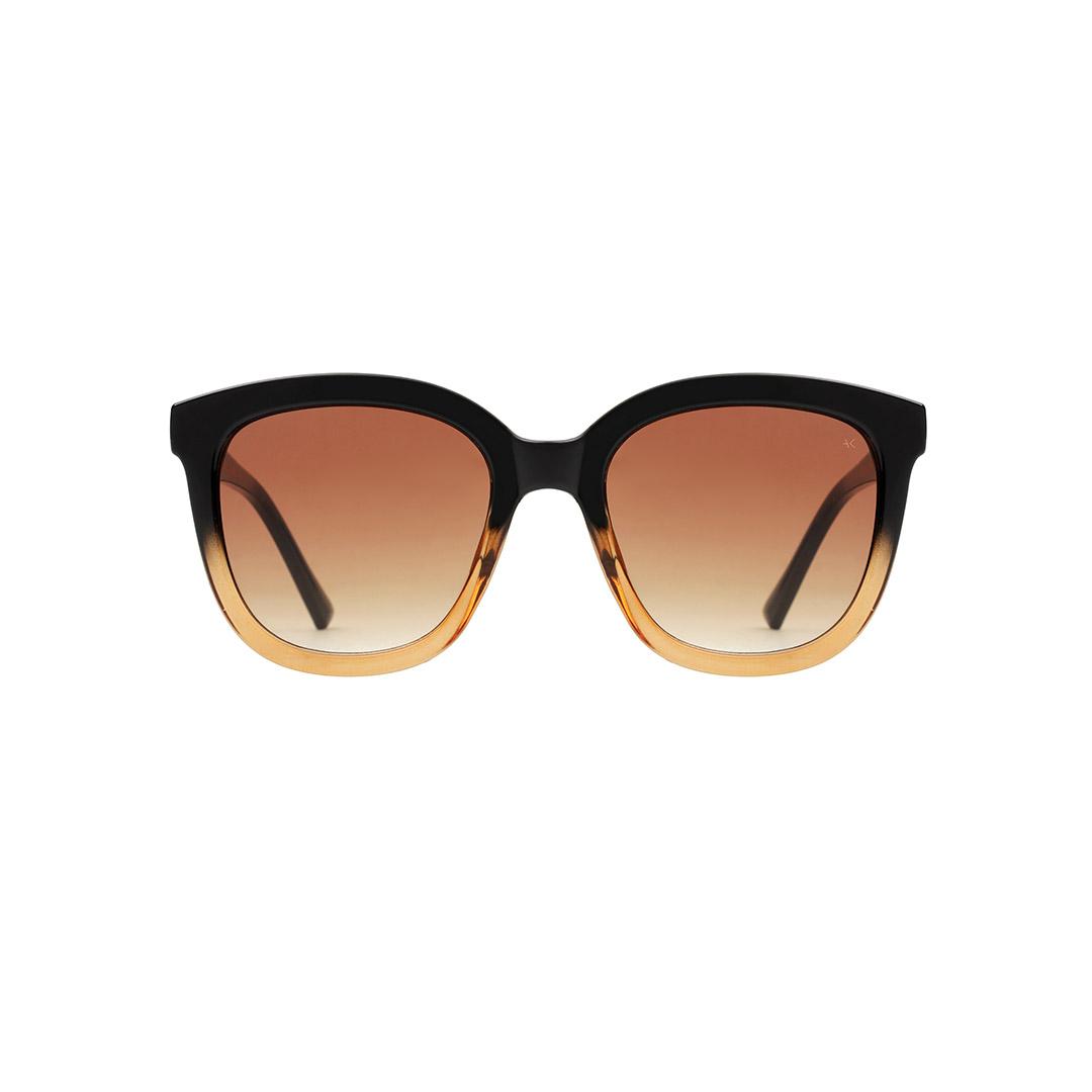 A. Kjærbede Billy sunglasses, black/brown transparent