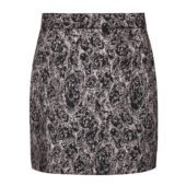Soft Rebels Willhelmina HW skirt, asphalt