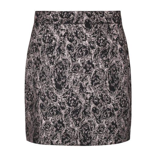 Soft Rebels Willhelmina HW skirt, asphalt