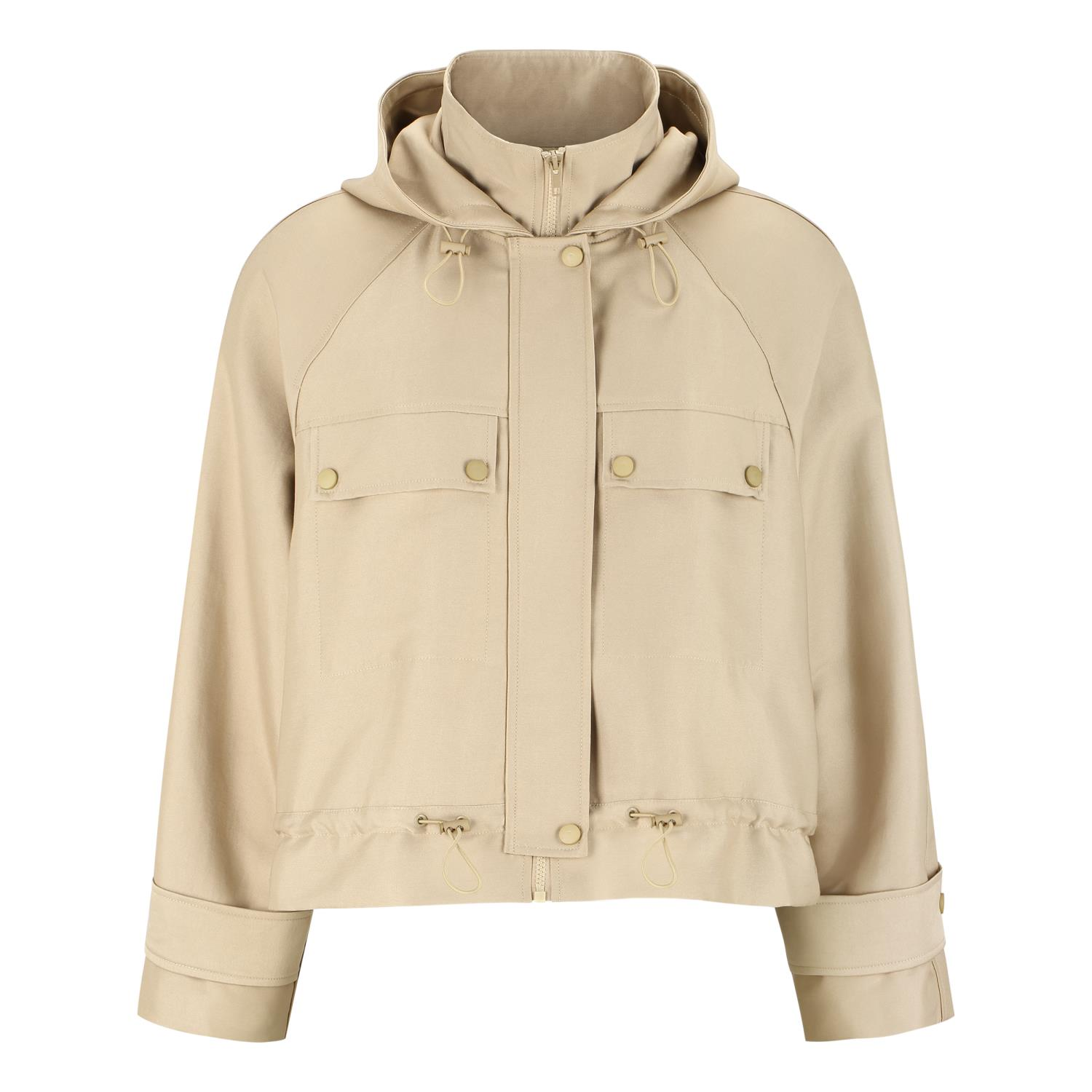 Soft Rebels Ellen Short Jacket, beige
