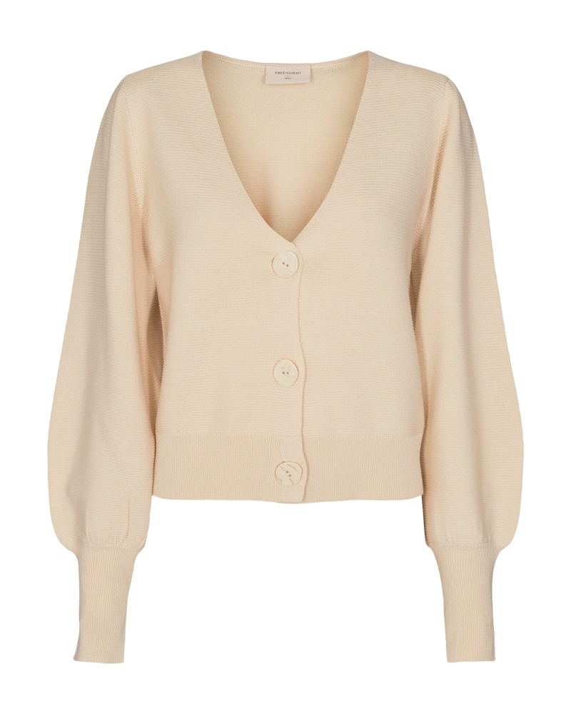 Freequent Riba cardigan, birch