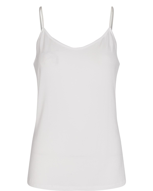 Nümph NuCady singlet, bright white