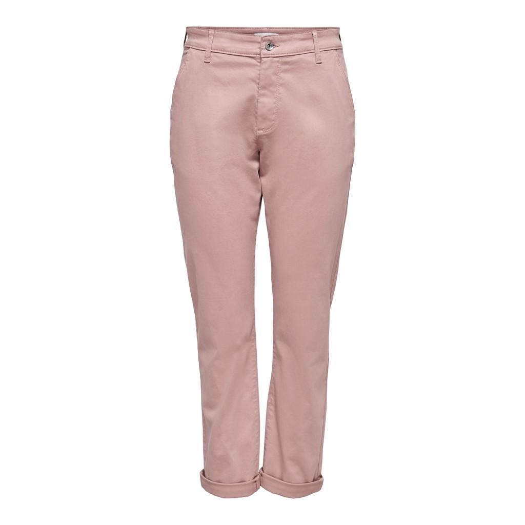 Jacqueline de Young Dakota chino pants, adobe rose/lys rosa