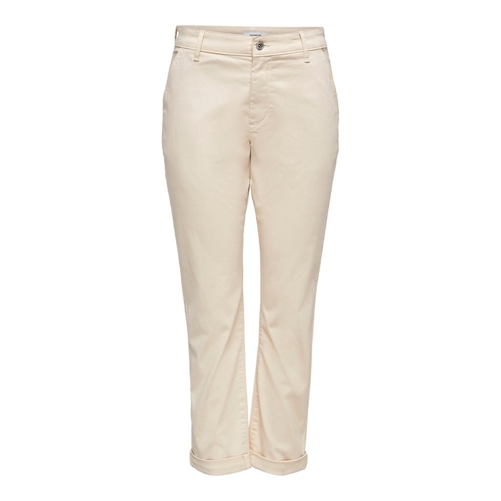 Jacqueline de Young Dakota chino pants, ecru/beige