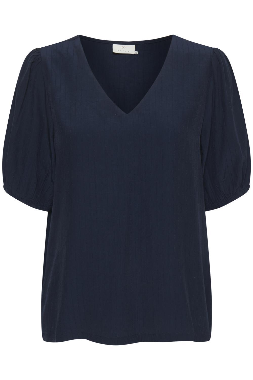 Kaffe Veronica blouse, midnight marine