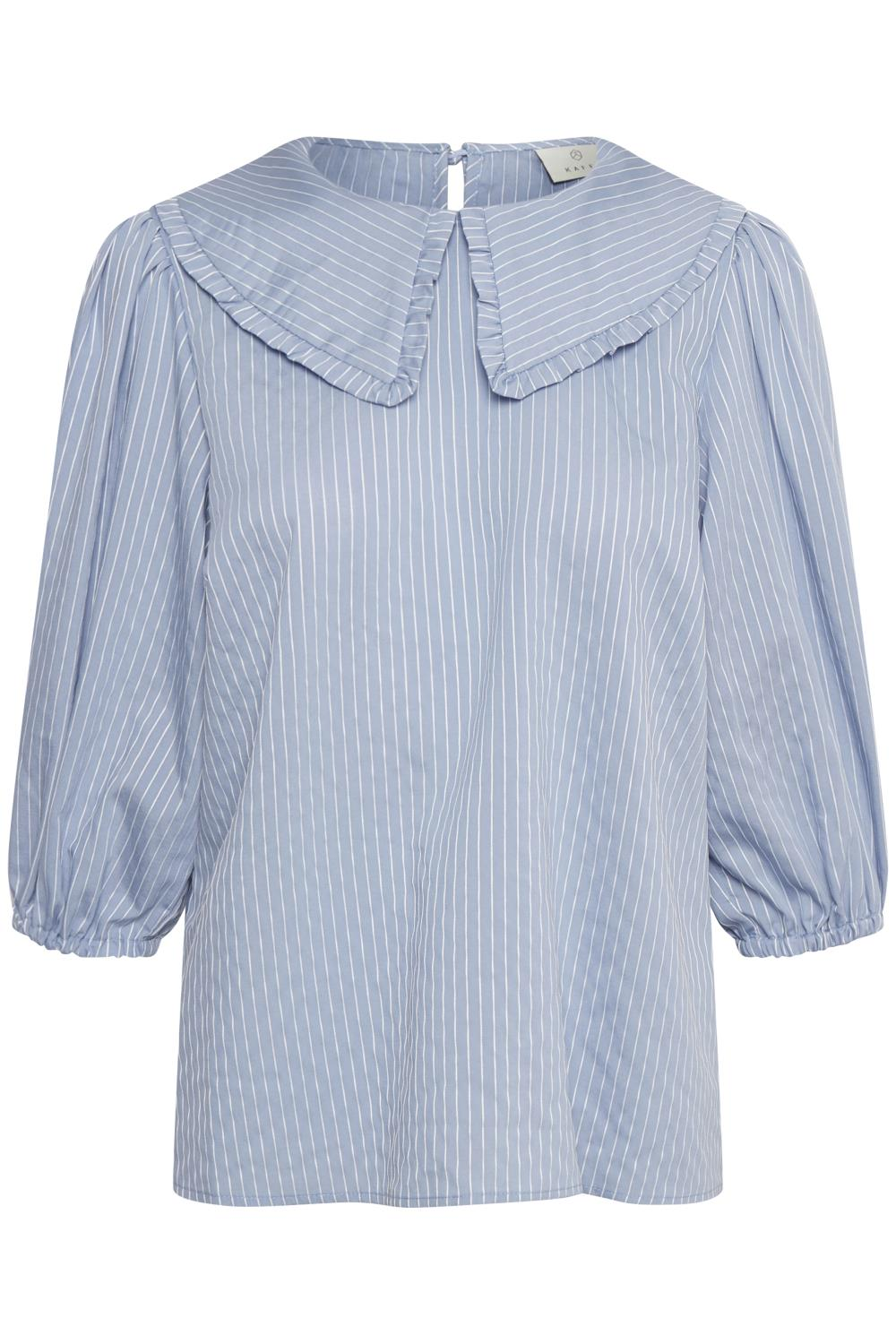 Kaffe Gabriella blouse, chambray stripe