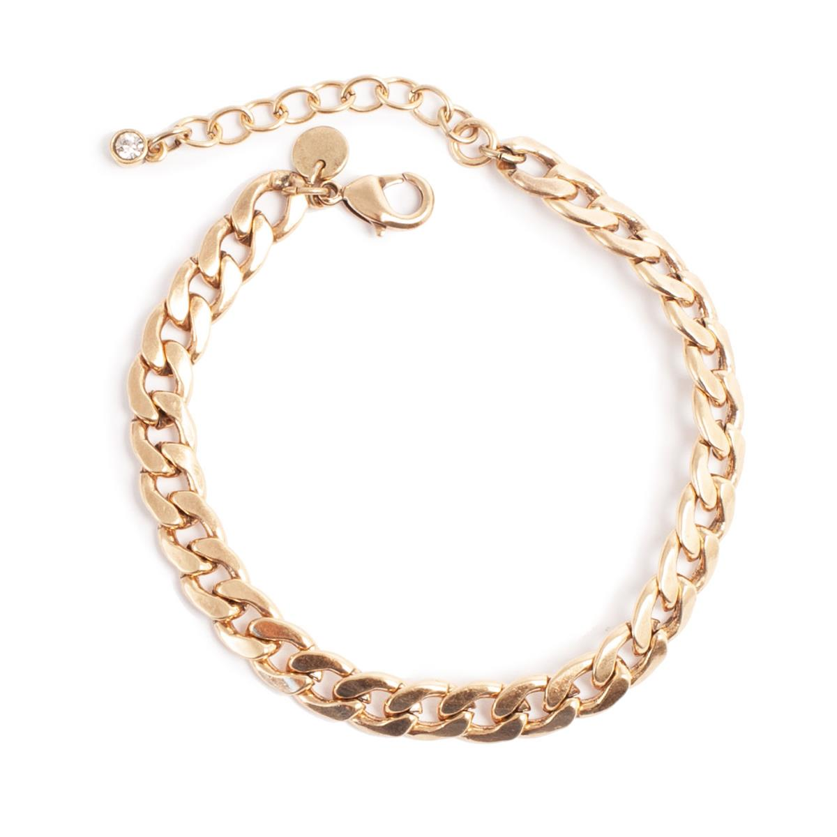 A&C lenke-armbånd, gull