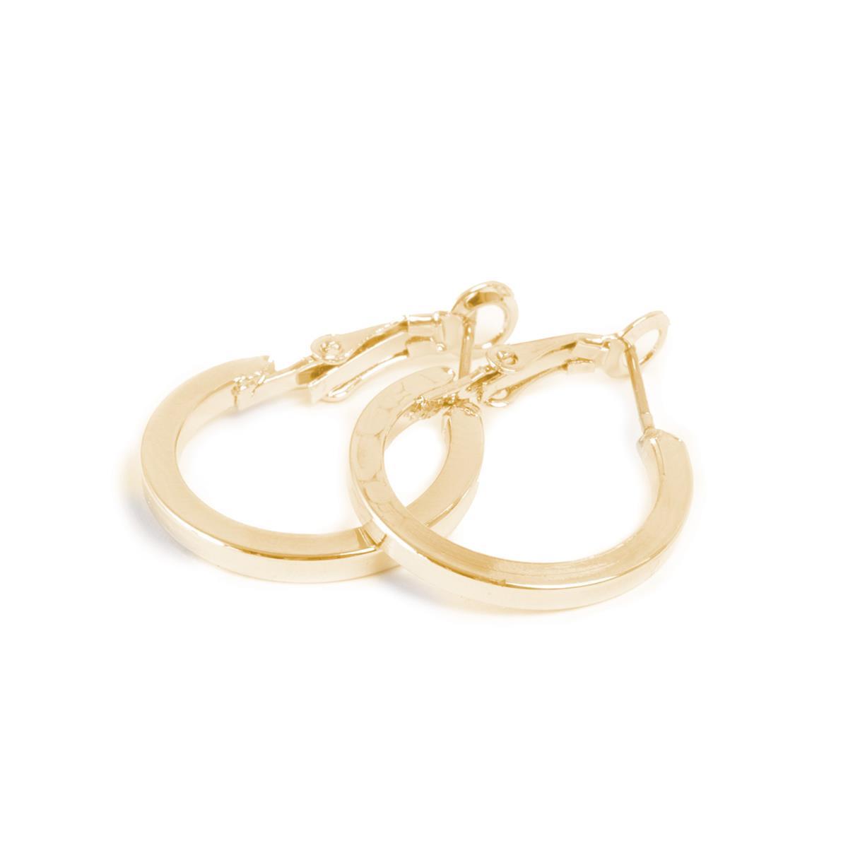 A&C standard øreringer, gull