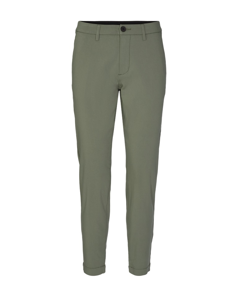 Freequent Betty ankle pant, mosegrønn