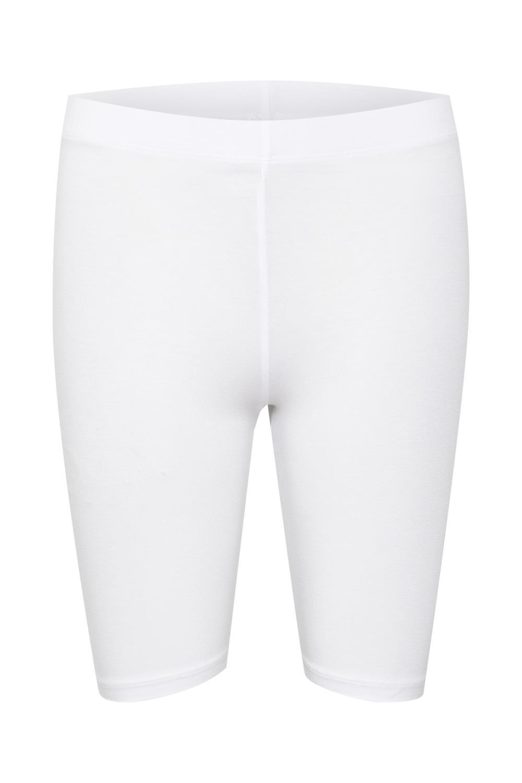 Kaffe Selma jersey shorts, optical white