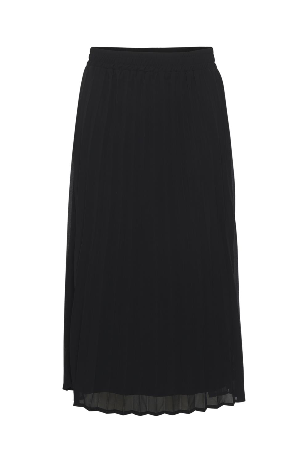 Kaffe Tiola skirt, black deep