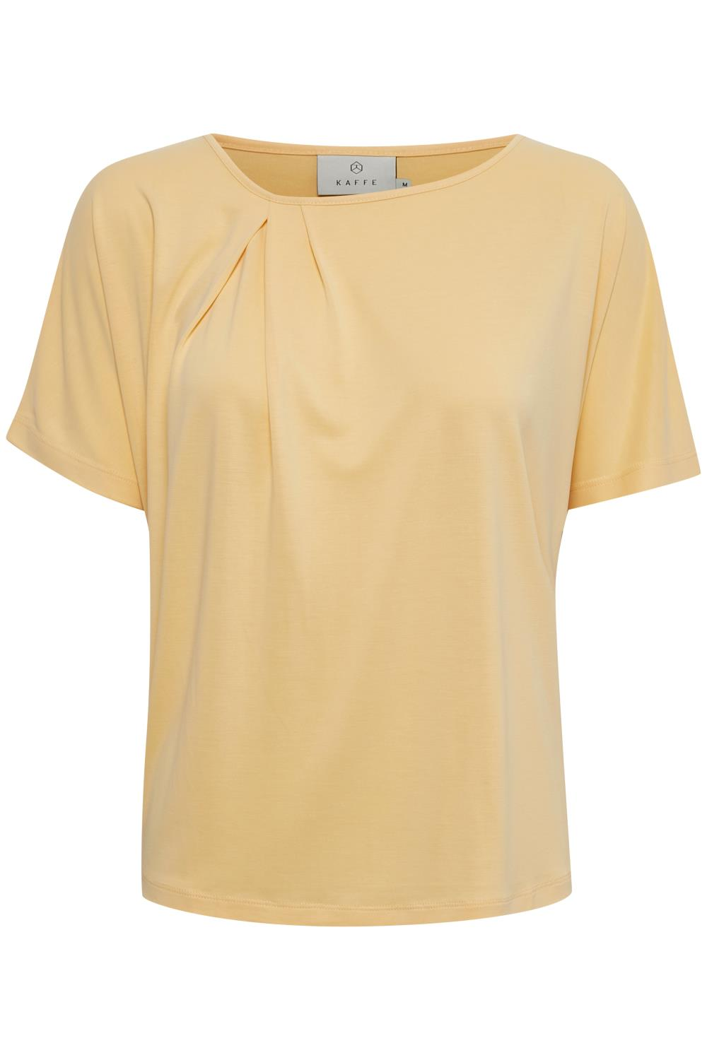 Kaffe Liffa T-shirt, golden haze