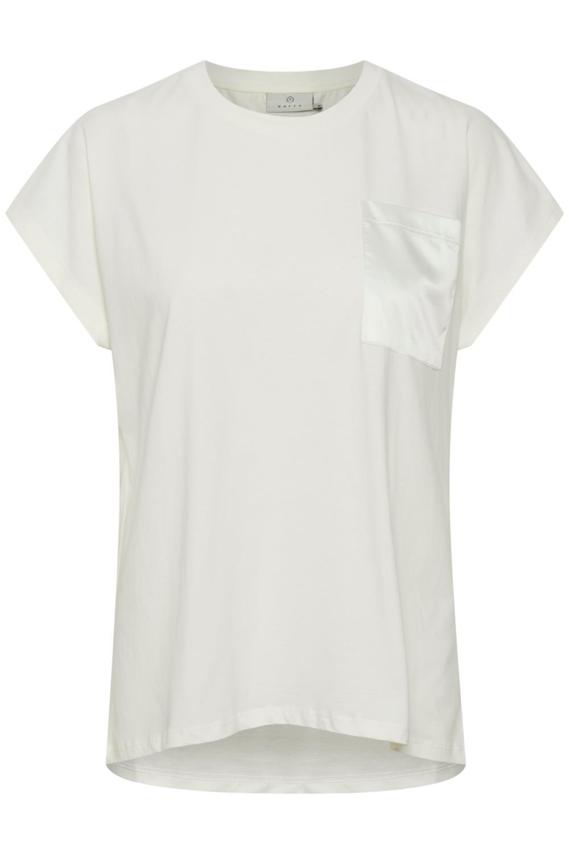Kaffe Blanca T-shirt, bomull, offwhite
