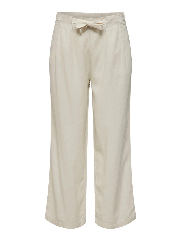 Jacqueline de Yong Say Linen Pant, beige
